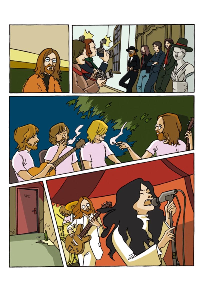 """""""John Lennon. Sein Leben Nach Den Beatles"""" 4"""