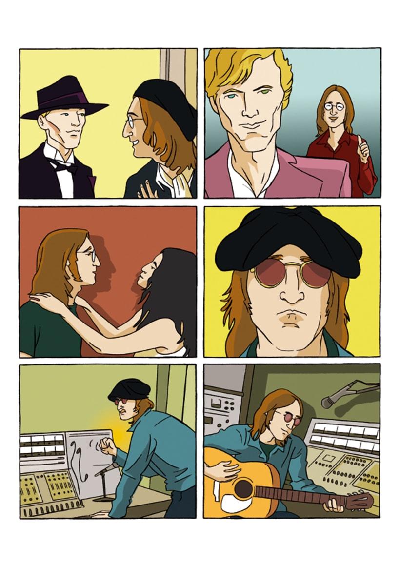 """""""John Lennon. Sein Leben Nach Den Beatles"""" 6"""