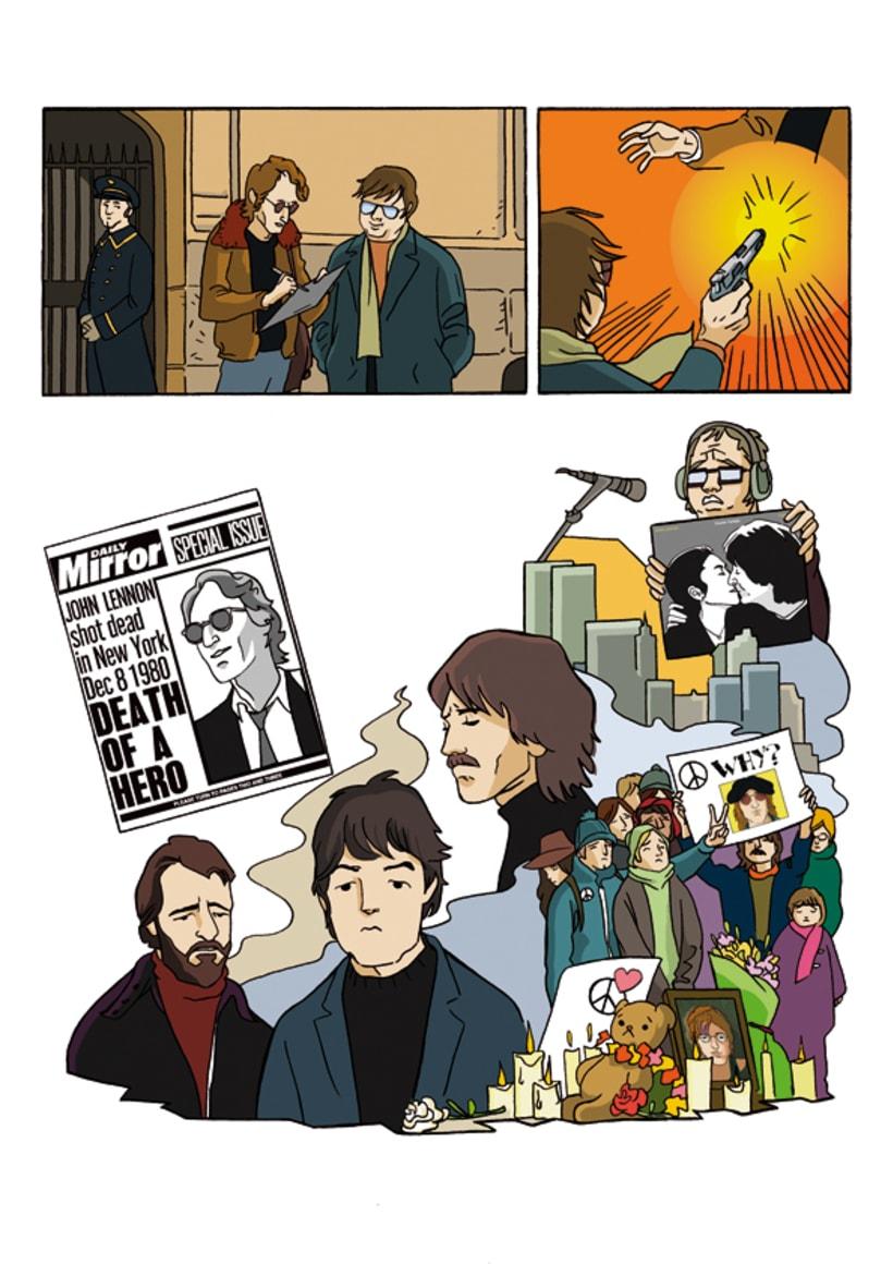 """""""John Lennon. Sein Leben Nach Den Beatles"""" 7"""