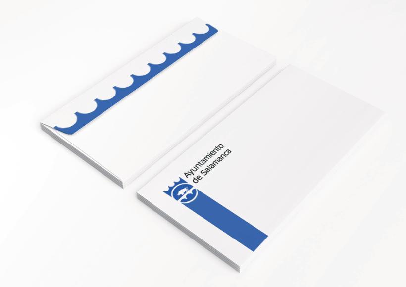 Propuesta rediseño identidad corporativa Ayuntamiento de Salamanca 2