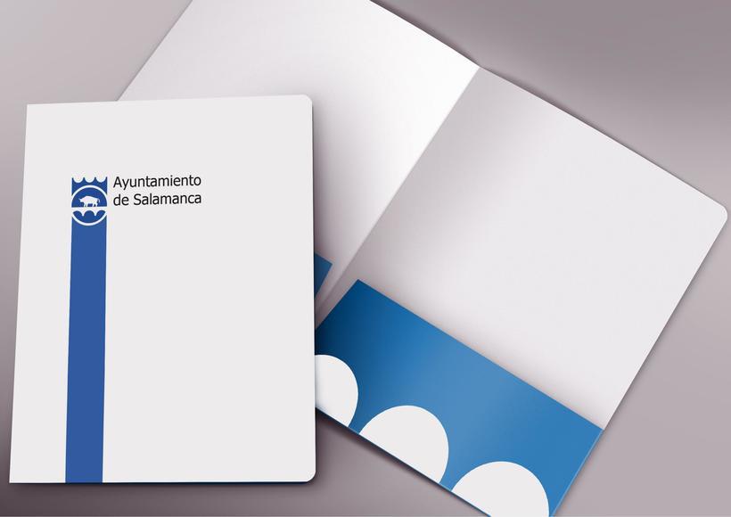 Propuesta rediseño identidad corporativa Ayuntamiento de Salamanca 4