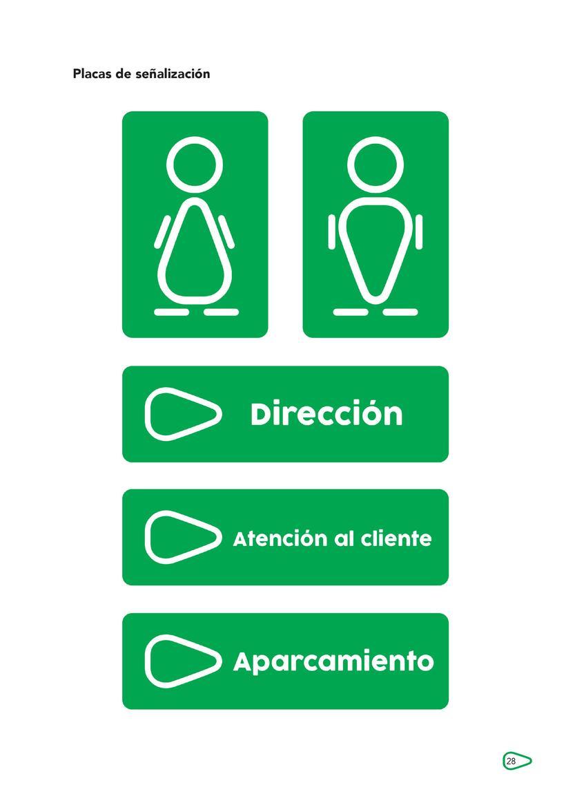 """Breve propuesta rediseño identidad corporativa """"El Corte Inglés"""" y aplicaciones 13"""