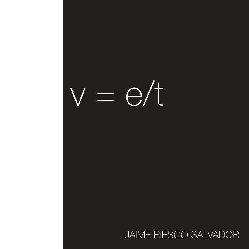 v=e/t -1