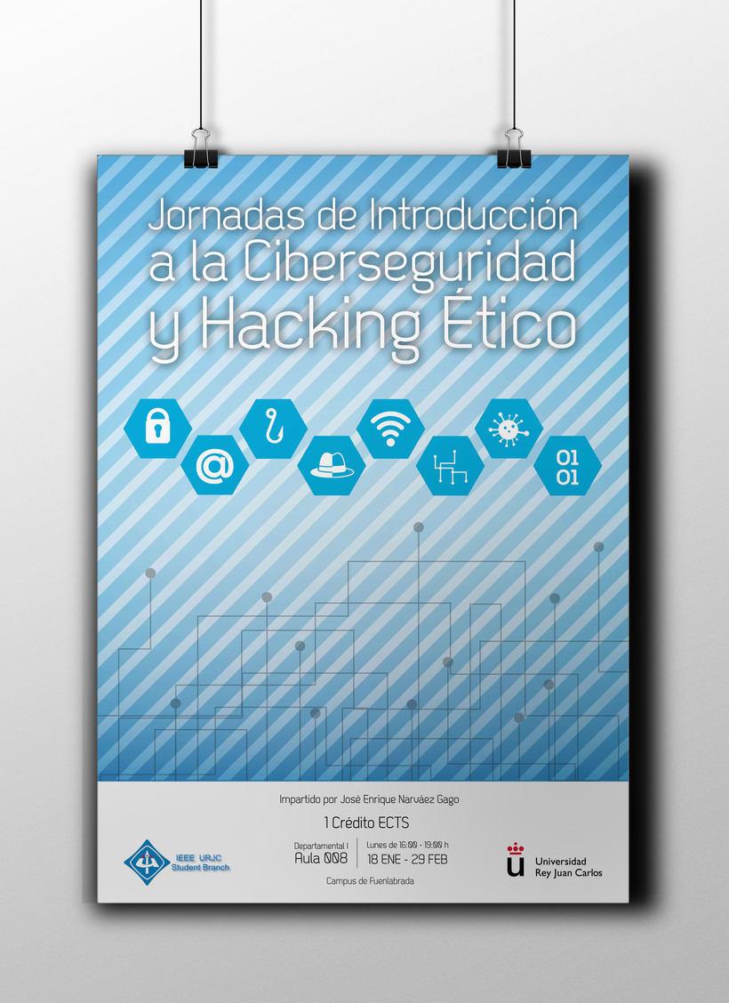 Diseño del cartel para curso de la URJC 0