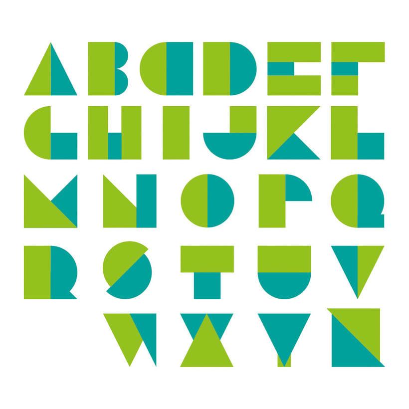 Tipografía modular  0
