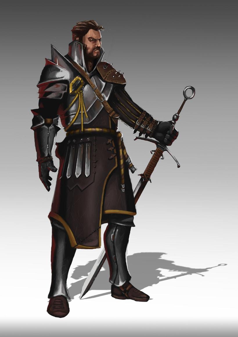 guerrero. Concept art -1
