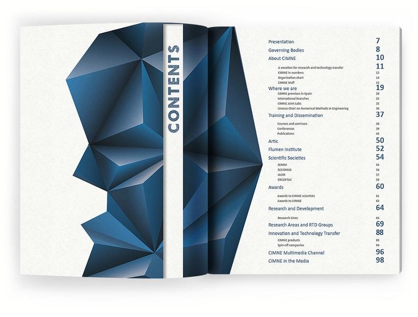 Anuario, catálogo, web y newsletter - CIMNE 3