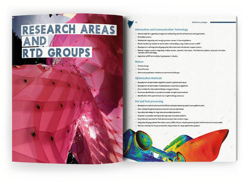 Anuario, catálogo, web y newsletter - CIMNE 6