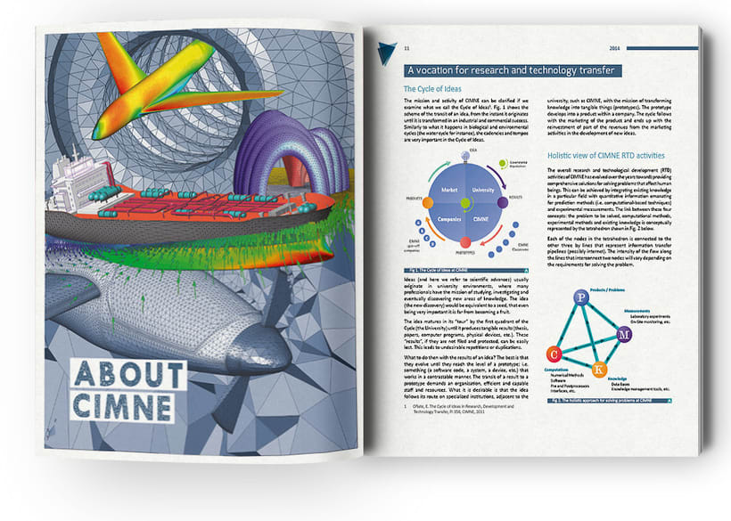 Anuario, catálogo, web y newsletter - CIMNE 7