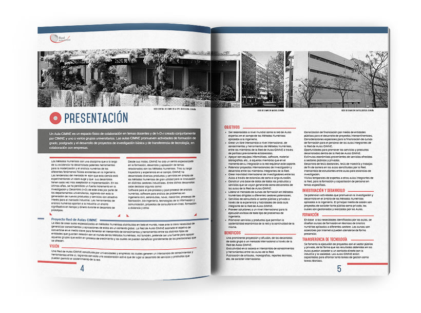 Anuario, catálogo, web y newsletter - CIMNE 11