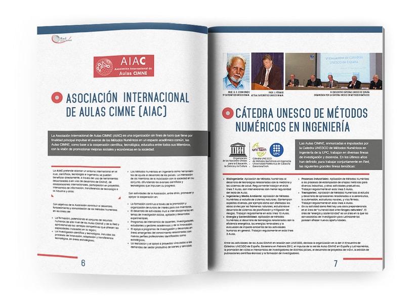 Anuario, catálogo, web y newsletter - CIMNE 12