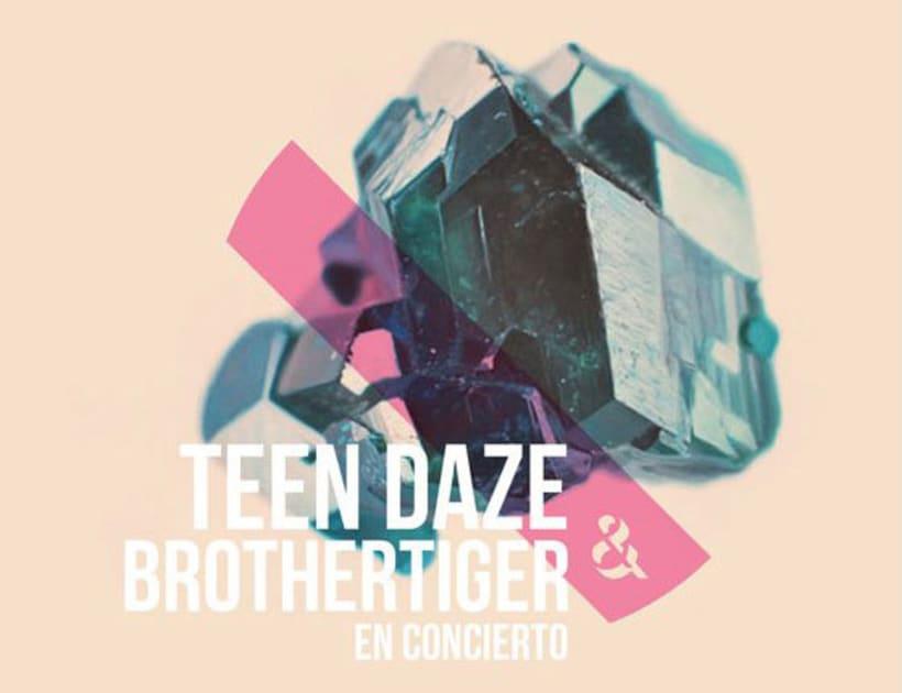 Teen Daze  & Brothertiger (Spanish tour) 0