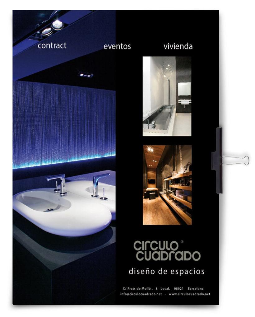 Anuncios en prensa, flyers, actualización web, SEO y marketing digital - CIRCULOCUADRADO 2