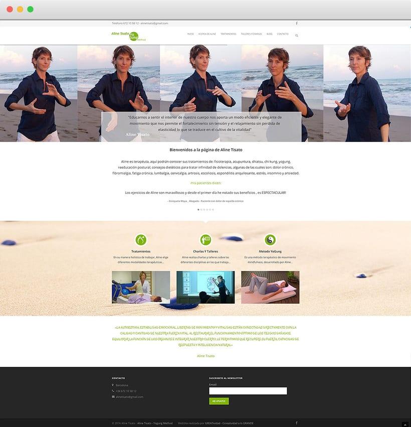Imagen corporativa, flyers, diseño de página web, marketing online, SEO y fotografía 1