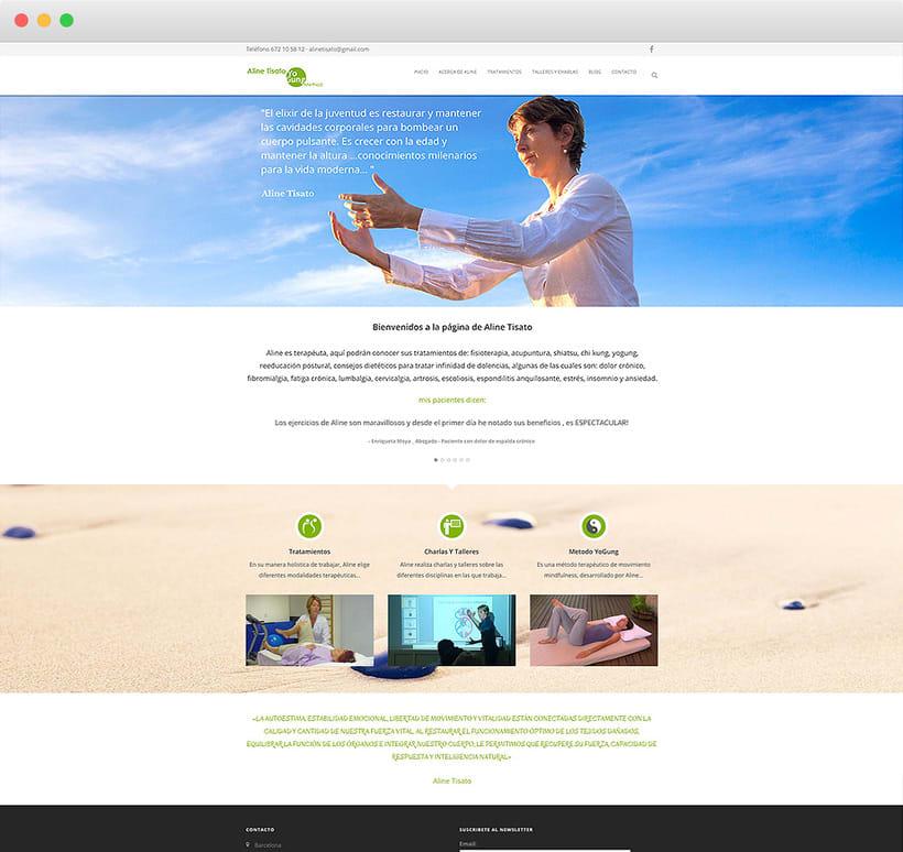 Imagen corporativa, flyers, diseño de página web, marketing online, SEO y fotografía 3