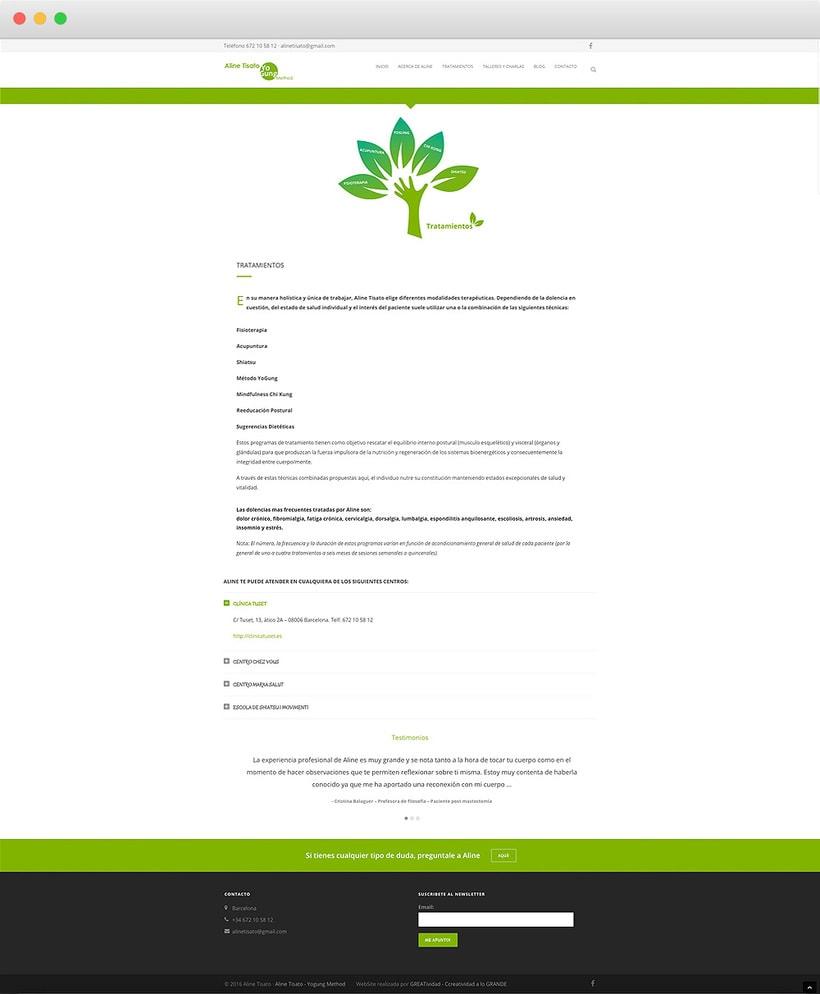 Imagen corporativa, flyers, diseño de página web, marketing online, SEO y fotografía 2