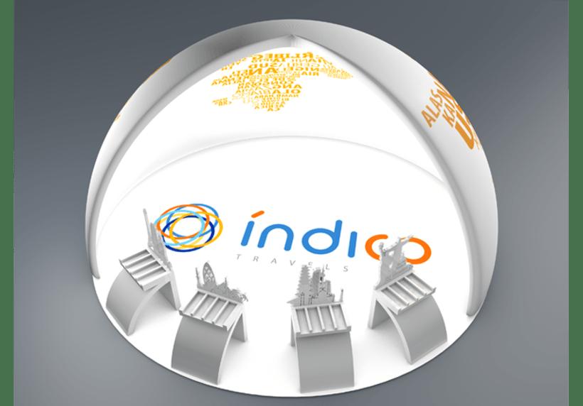 Branding Índico travels 8