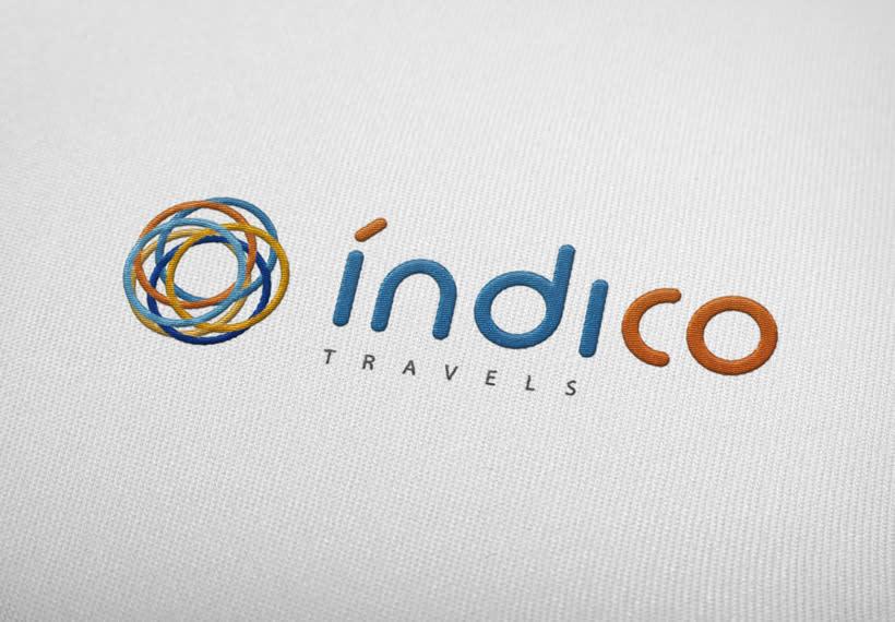 Branding Índico travels 2