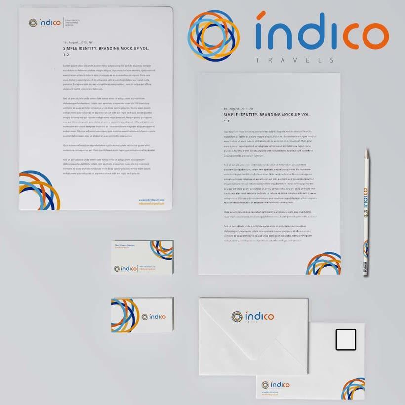 Branding Índico travels 6
