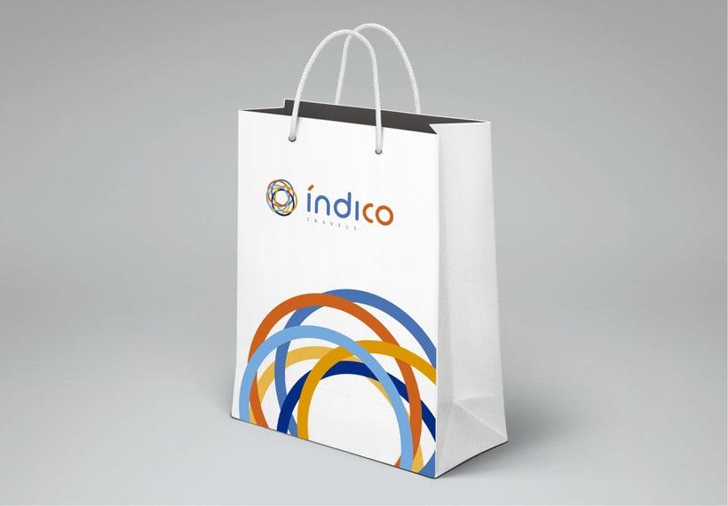 Branding Índico travels 4