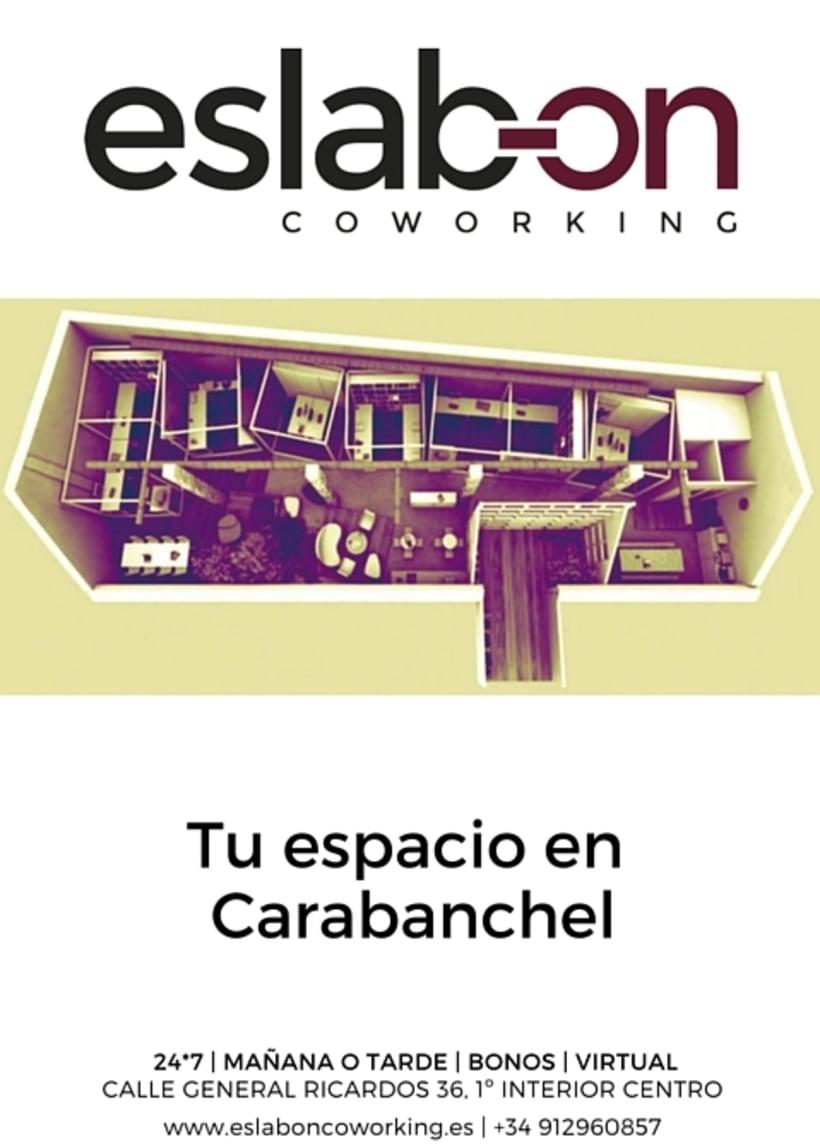Cartel eslab-on Coworking -1