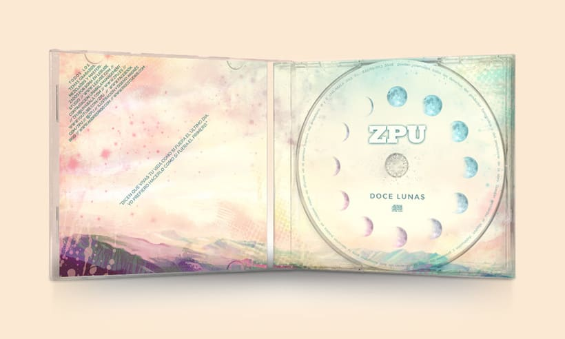 CD álbum ZPU 3