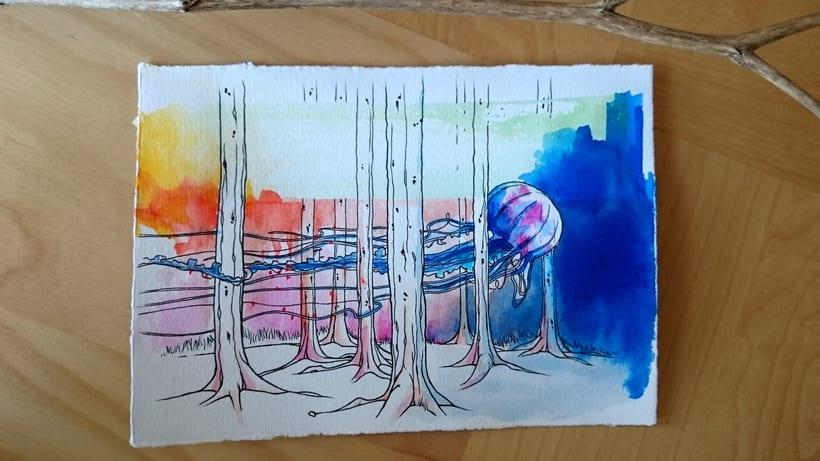 Bosques Acuáticos. Medusa 1