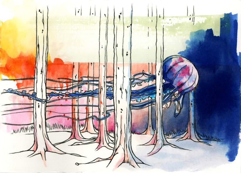 Bosques Acuáticos. Medusa 0