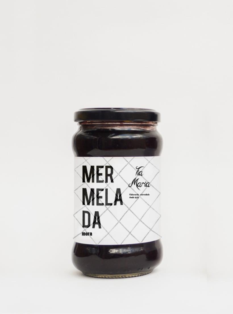 Packaging Mermelada Tía María 0