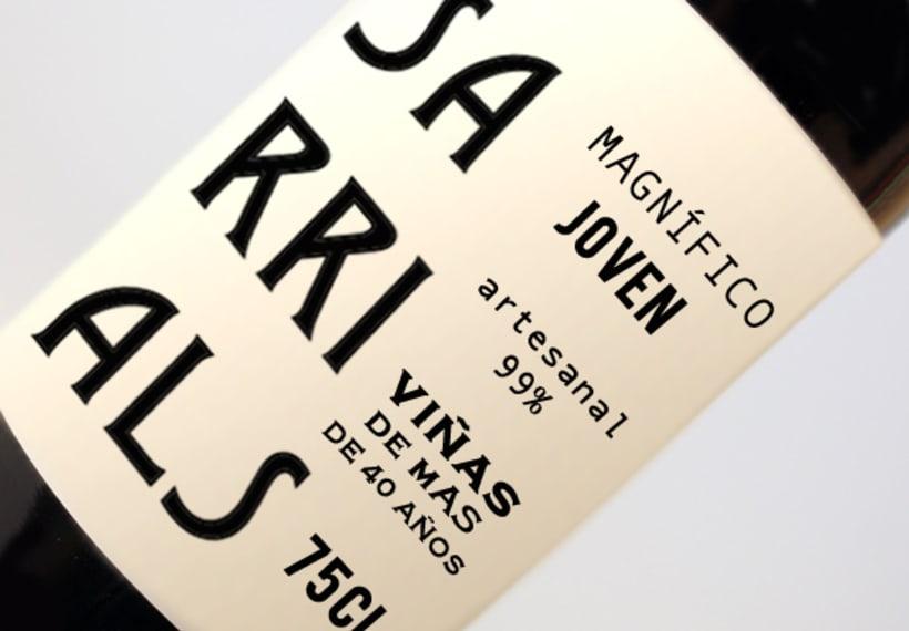 Packaging Vino sarrials 0