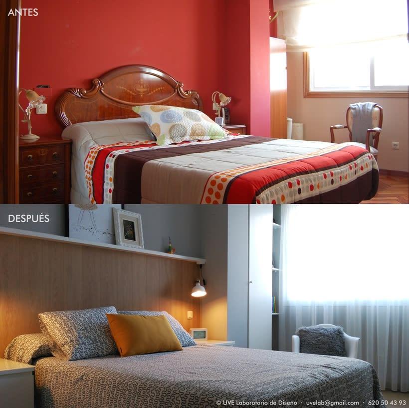Dormitorio nórdico 2