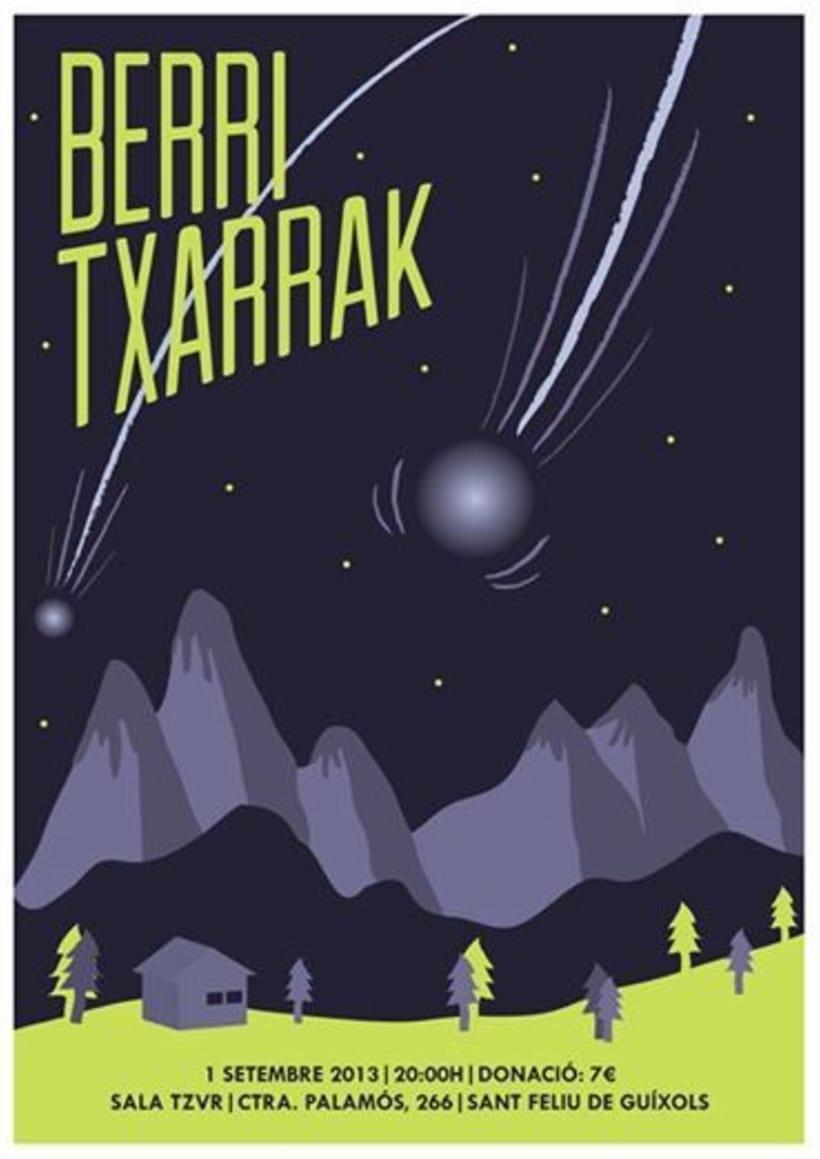 Cartel BERRI TXARRAK -1