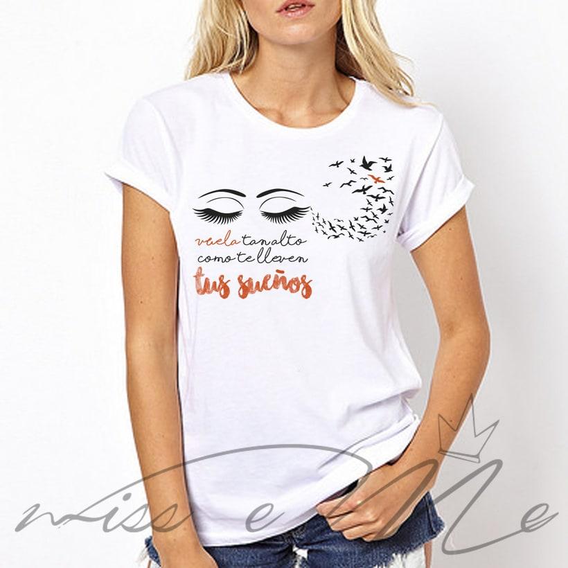 Camiseta Tus sueños 0