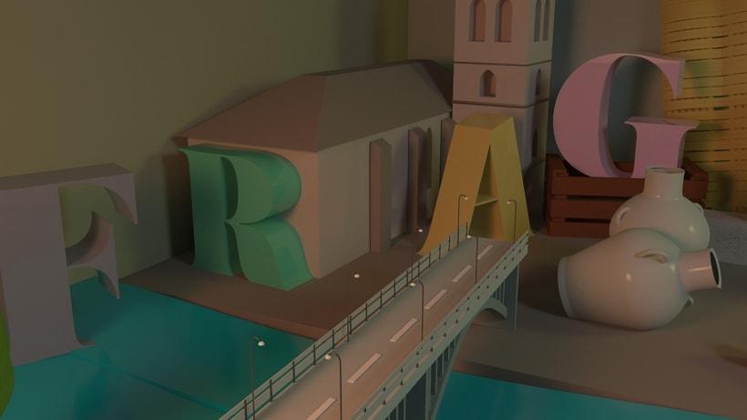 Mi Proyecto del curso: Dirección de Arte con Cinema 4D 2