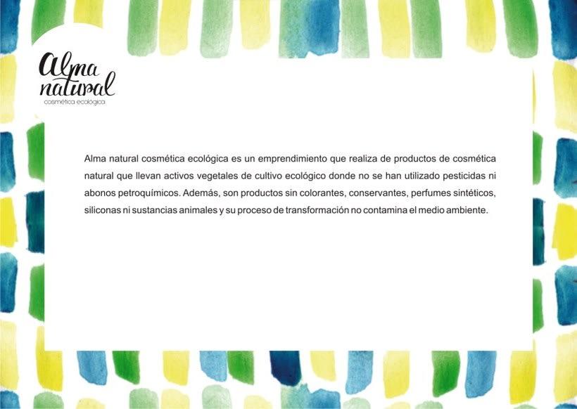 Proyecto para Alma Natural - cosmética ecológica 1