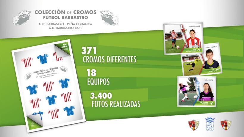 Álbum de cromos - Fútbol Barbastro 2015-2016 1