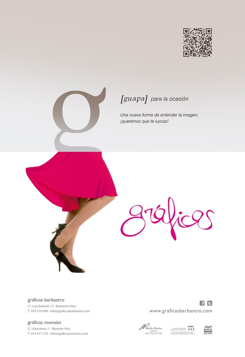 Campaña promocional Gráficas Barbastro 2014 -1