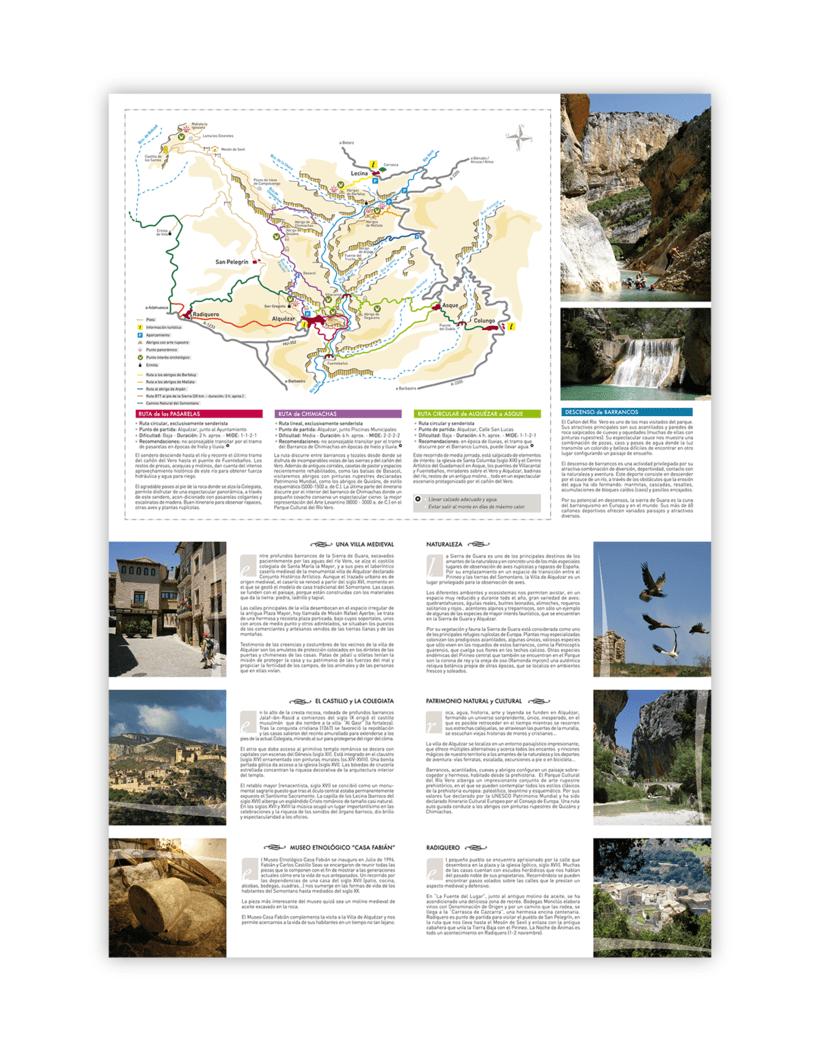 Mapa turístico de Alquézar / Huesca 0
