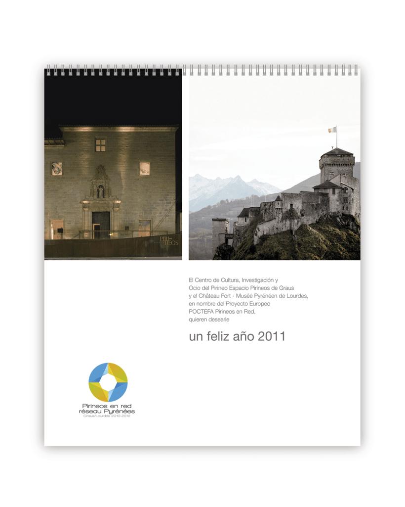 Calendario 2011 Graus-Lourdes (FR) -1