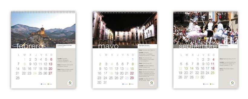 Calendario 2011 Graus-Lourdes (FR) 0