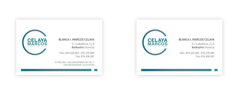 "Marca ""Celaya-Marcos / Asesores"" 0"