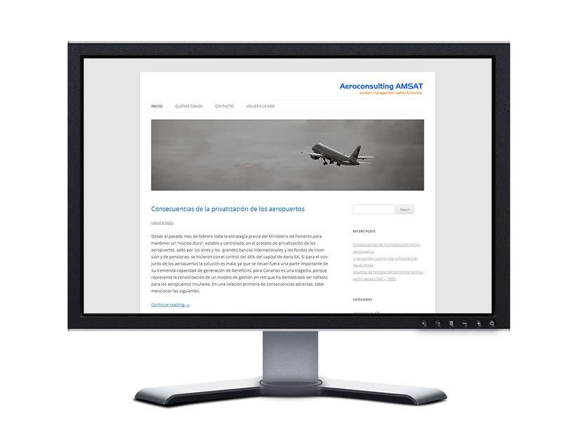 Diseño web - Consultoría Aeronáutica -1