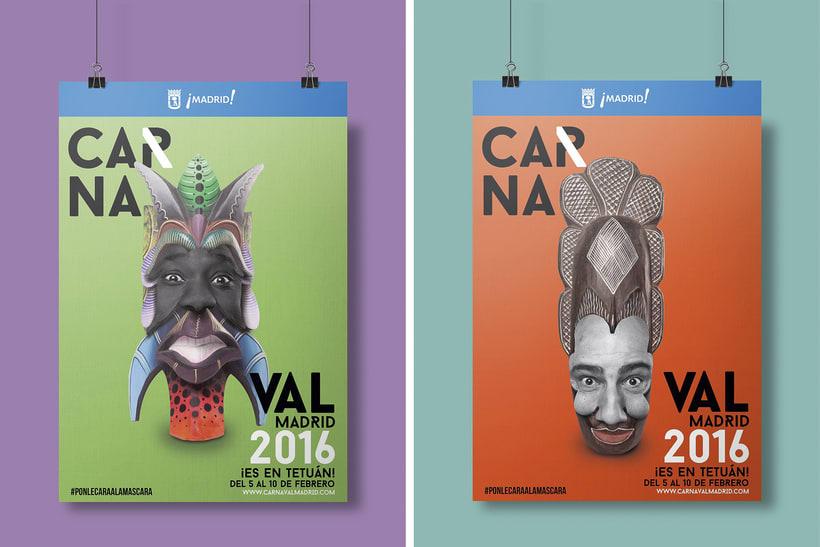 CARNAVAL 2016, Ayuntamiento de Madrid/ Diseño e imagen 0