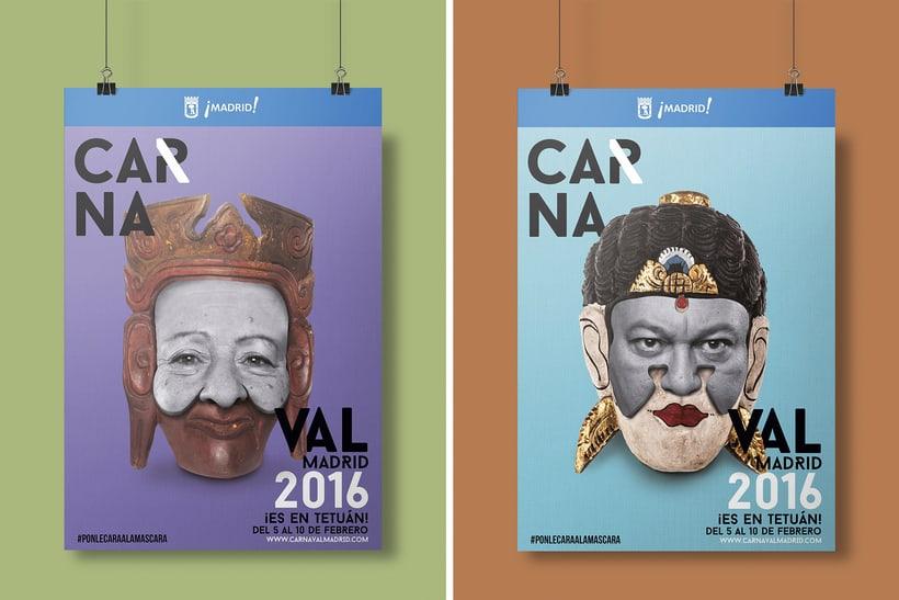 CARNAVAL 2016, Ayuntamiento de Madrid/ Diseño e imagen 1