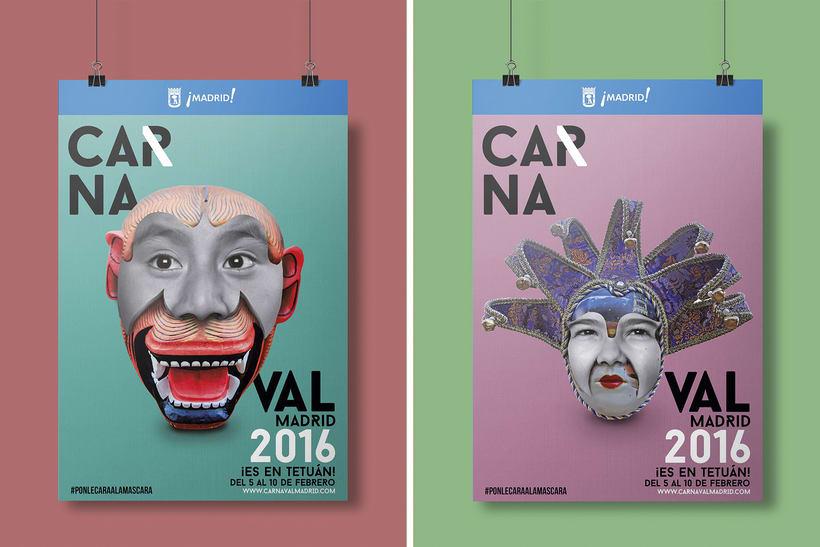 CARNAVAL 2016, Ayuntamiento de Madrid/ Diseño e imagen 2