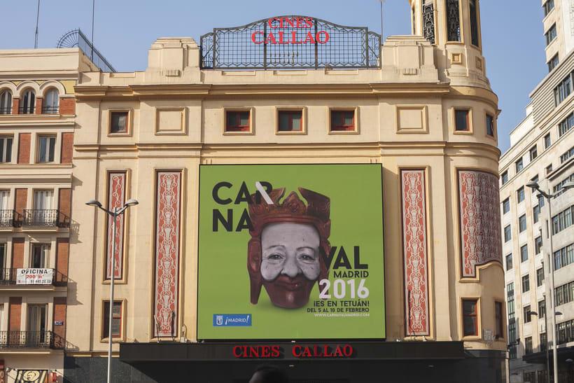 CARNAVAL 2016, Ayuntamiento de Madrid/ Diseño e imagen 4