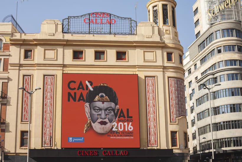 CARNAVAL 2016, Ayuntamiento de Madrid/ Diseño e imagen 9