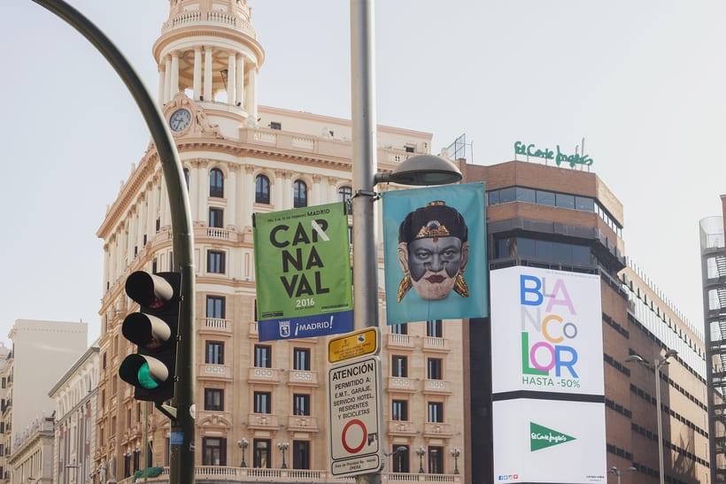CARNAVAL 2016, Ayuntamiento de Madrid/ Diseño e imagen 7
