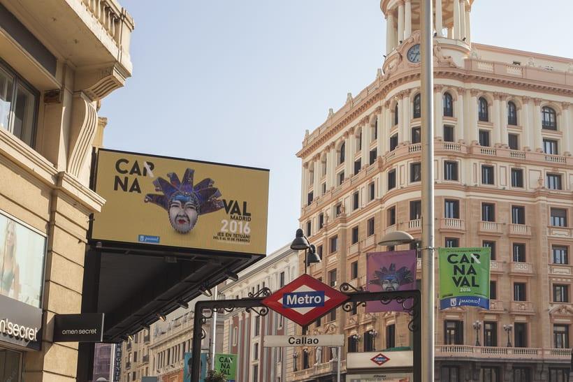 CARNAVAL 2016, Ayuntamiento de Madrid/ Diseño e imagen 6