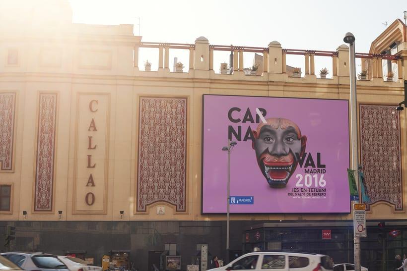 CARNAVAL 2016, Ayuntamiento de Madrid/ Diseño e imagen 8
